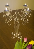 Candelabro in Plexiglass
